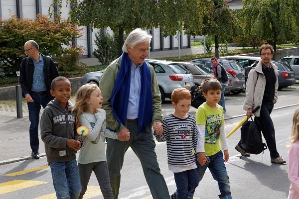 Luzern – 18.09.2015 Internationaler Tag zu Fuss zur Schule