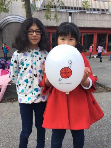 Journée internationale à pied à l'école: une multitude d'actions et de petits pas.