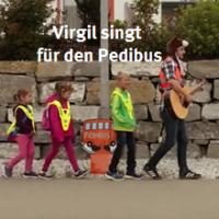 Virgil unterstützt den Pedibus