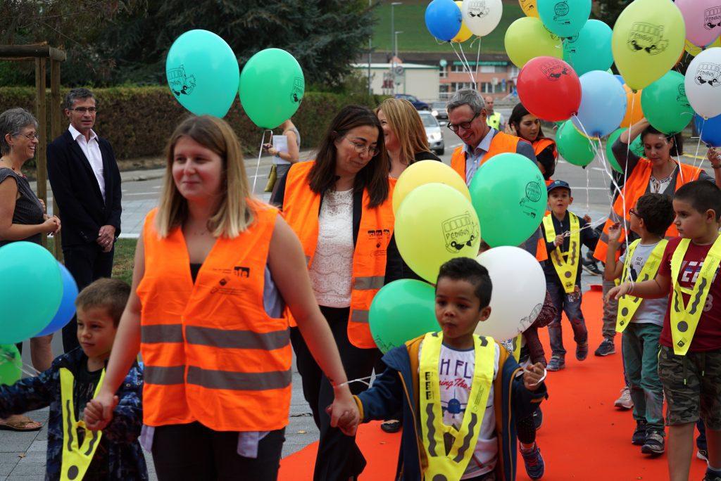 Journée internationale à pied à l'école 2018