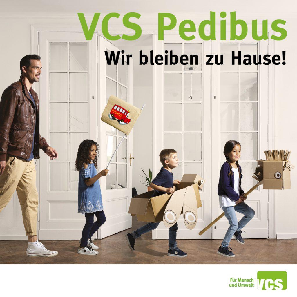 Der Pedibus lädt sich in Ihr Haus ein