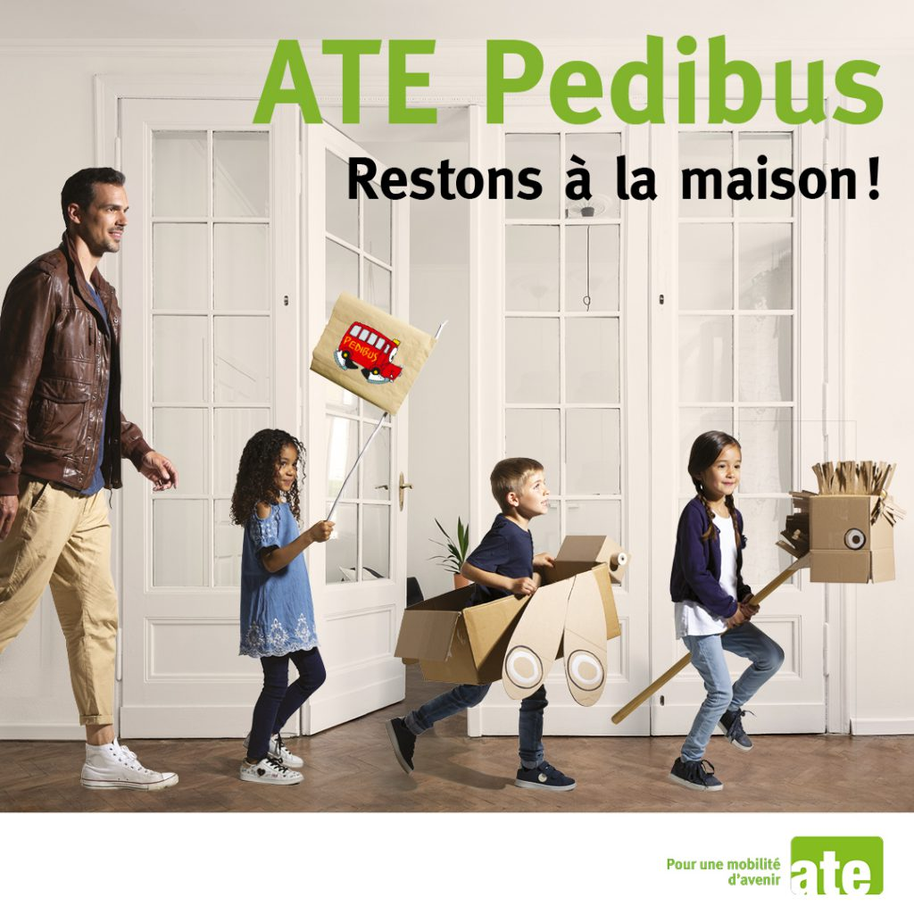 Le Pedibus s'invite chez vous