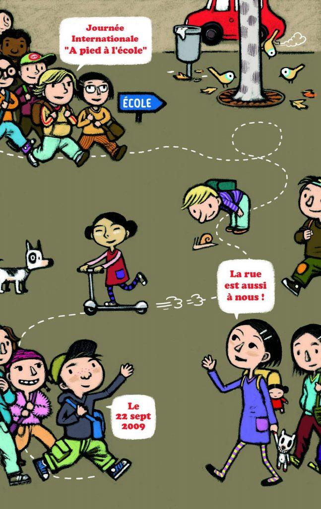 Journée internationale à pied à l'école 2009