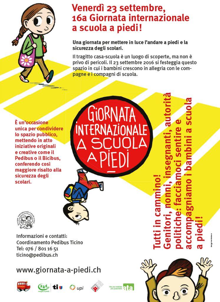 Giornata internazionale a scuola a piedi  2016