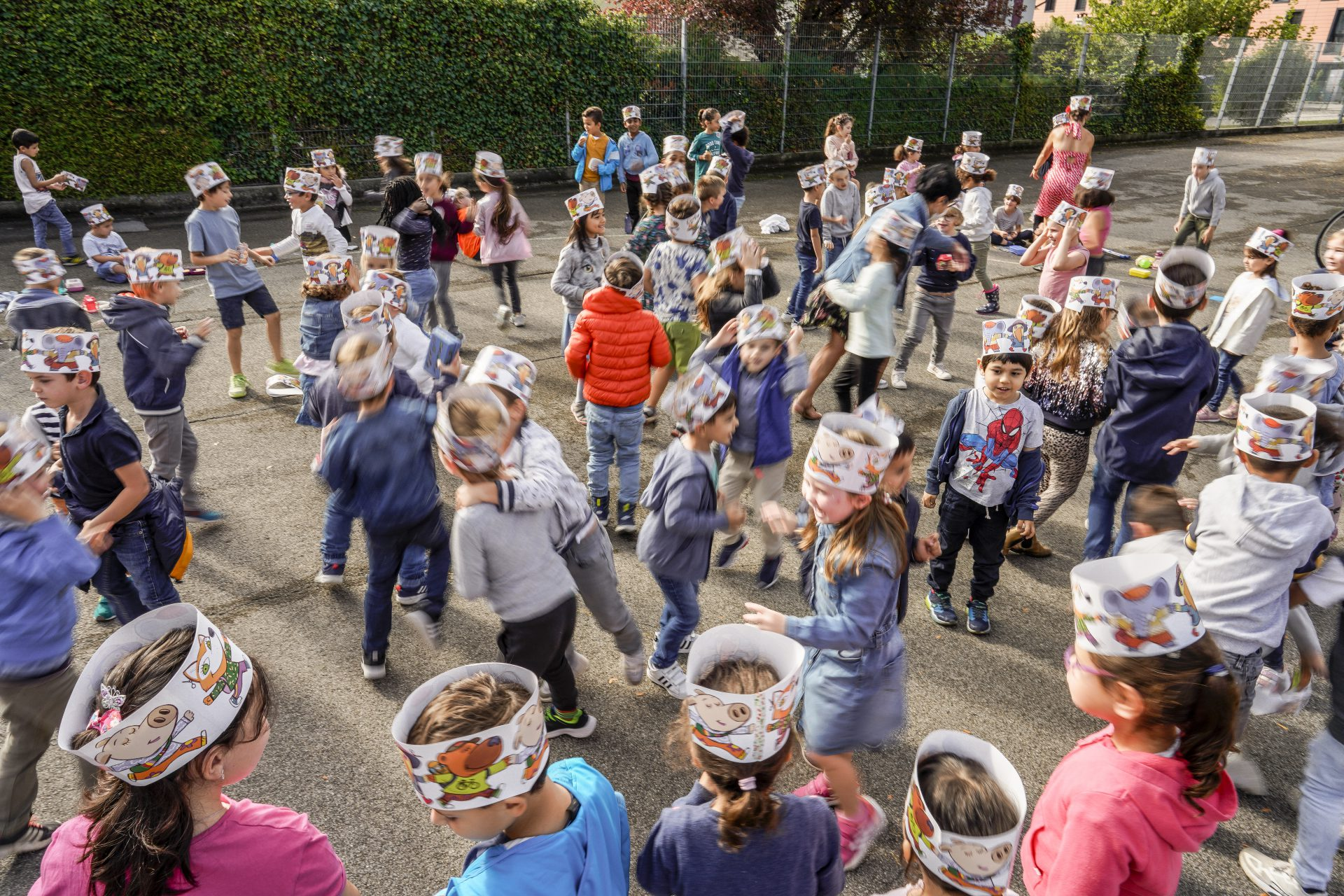 Vive la Journée internationale à pied à l'école !